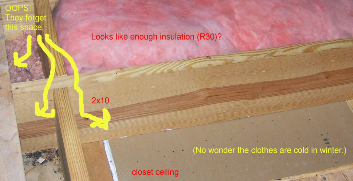 Incompetent insulation installers for What s the difference between faced and unfaced insulation