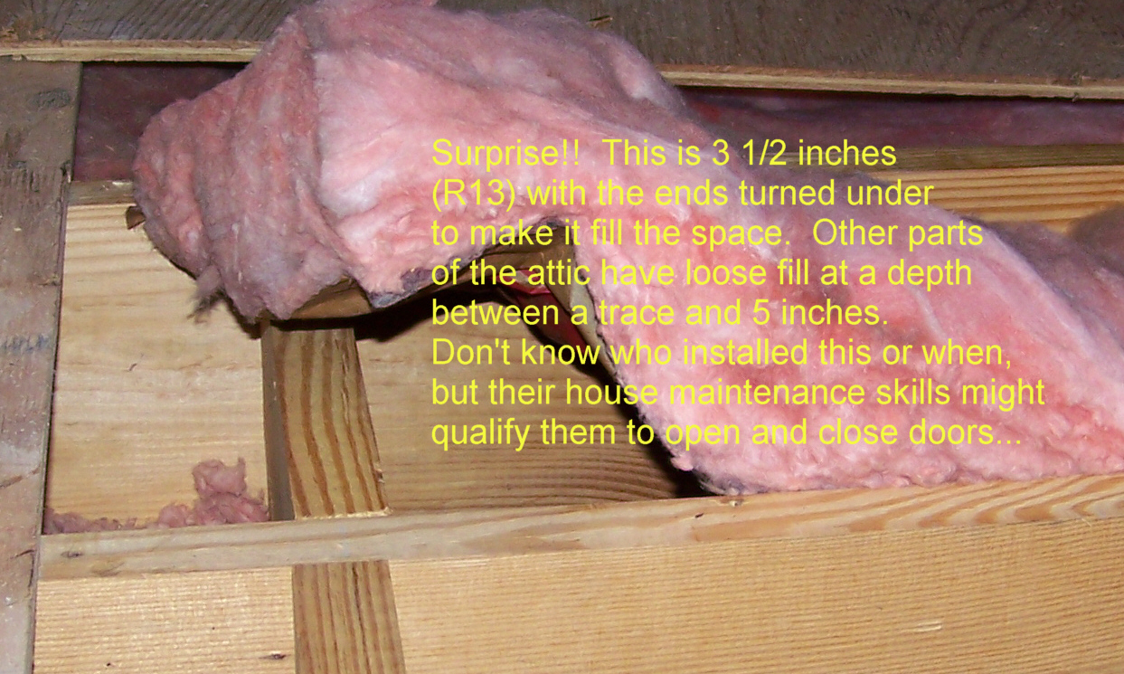 Incompetent Insulation Installers